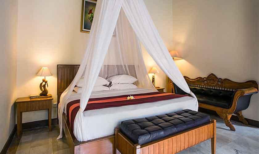 Schlafzimmer Villa Suites Parigata auf Bali