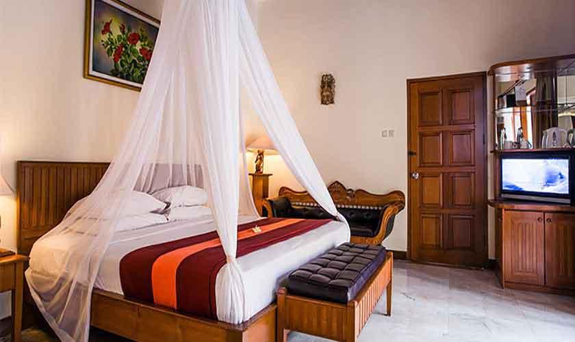 Schlafzimmer Villa Suites Parigata Bali