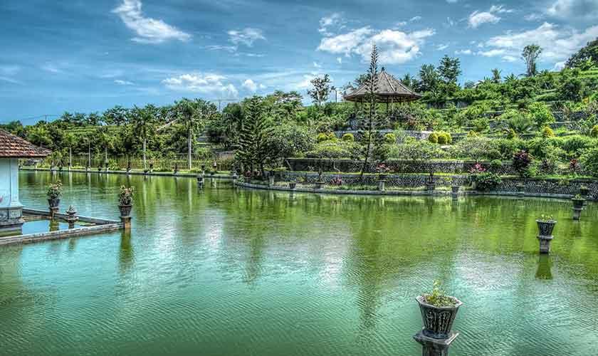 Bali Wasserlandschaft
