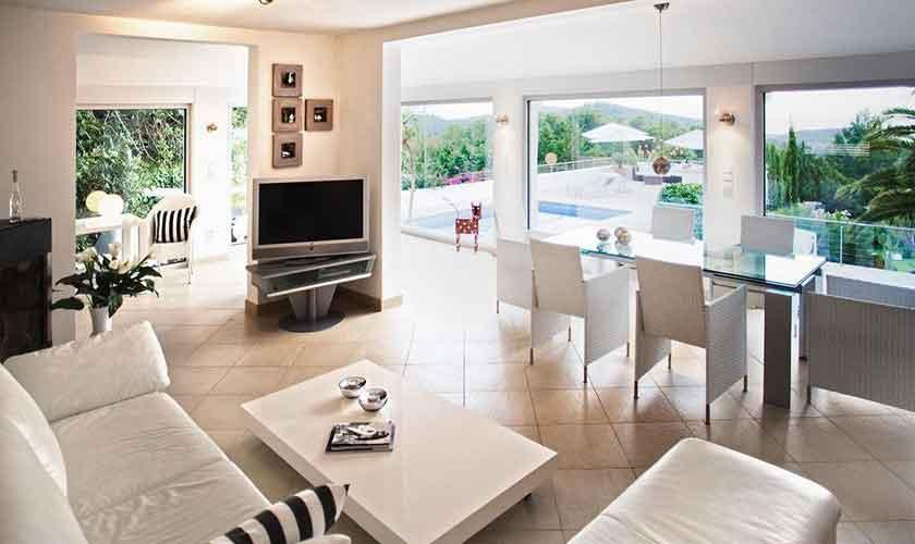 Wohnraum Ferienhaus Ibiza IBZ 15