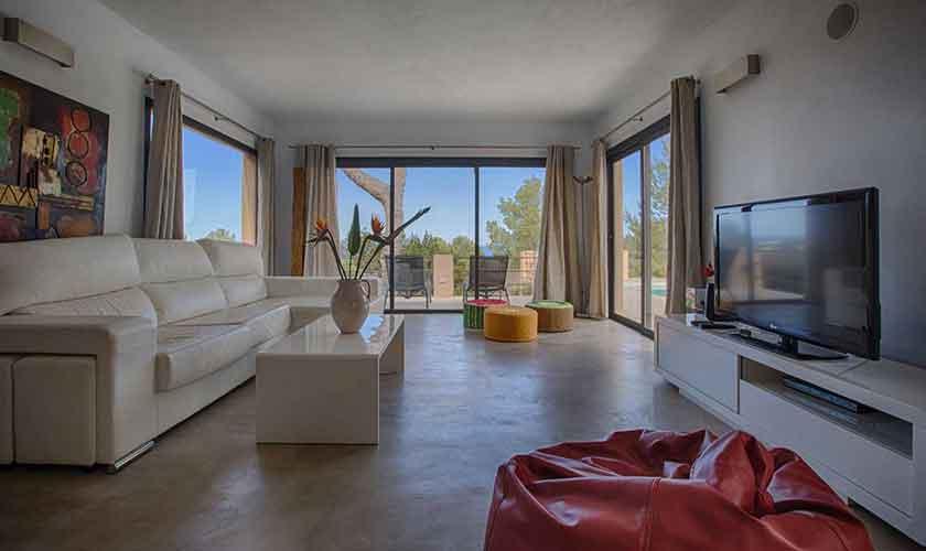 Wohnraum Ferienhaus Ibiza IBZ 16
