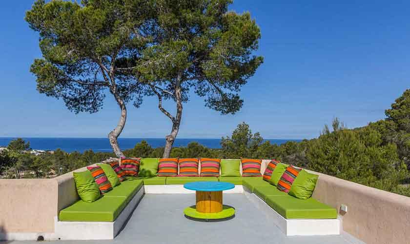 Dachterrasse Ferienhaus Ibiza IBZ 16