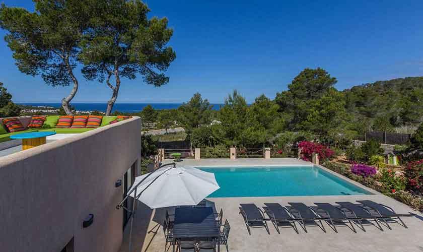 Pool und Ferienhaus Ibiza IBZ 16
