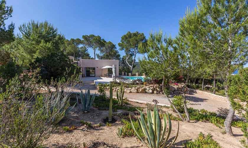 Garten Ferienhaus Ibiza IBZ 16