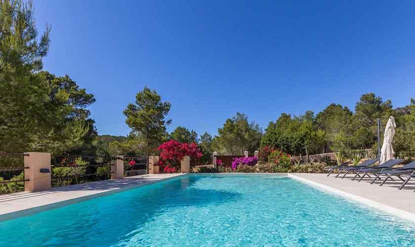 Poolblick Ferienhaus Ibiza IBZ 16