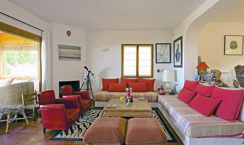 Wohnraum Ferienhaus Ibiza IBZ 19