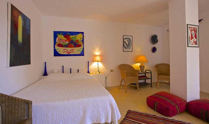 Schlafzimmer Ferienhaus Ibiza IBZ 19