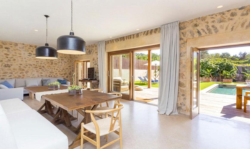 Wohnraum Ferienhaus Ibiza IBZ 22