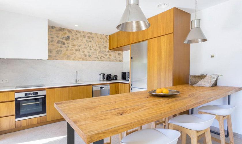 Küche Ferienhaus Ibiza IBZ 22
