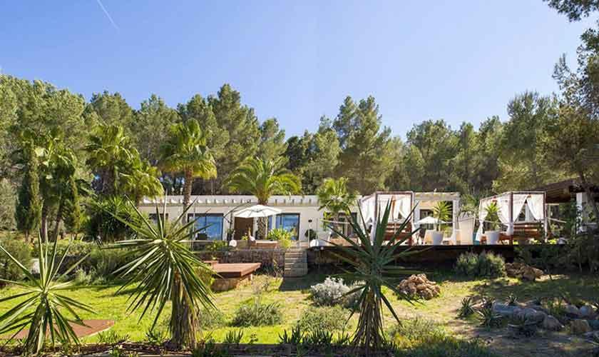 Blick auf das Haus Ferienvilla Ibiza IBZ 33