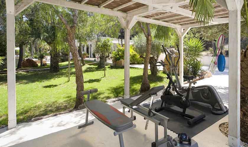 Fitness Ferienvilla Ibiza IBZ 33