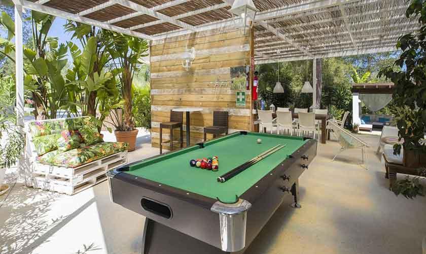 Poolbillard Ferienvilla Ibiza IBZ 33