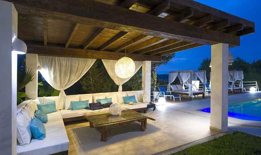 Terrasse und Ferienvilla Ibiza IBZ 33