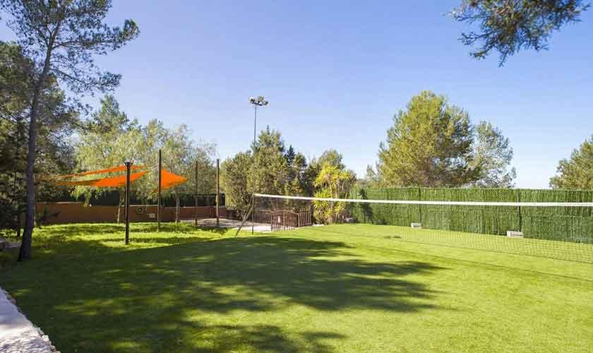 Volleyballplatz Ferienvilla Ibiza IBZ 33