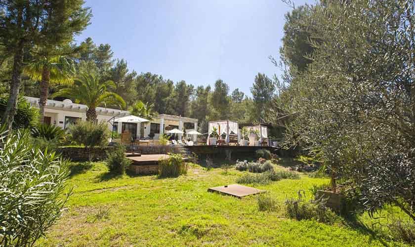Garten Ferienvilla Ibiza IBZ 33