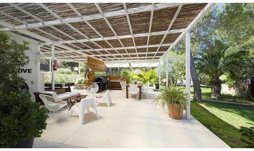 Terrasse Ferienvilla Ibiza IBZ 33