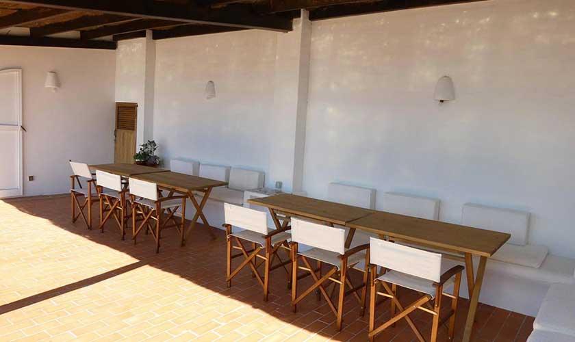 Essplatz Terrasse Villa Ibiza IBZ 34