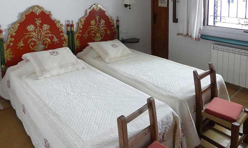 Schlafzimmer Villa Ibiza IBZ 34