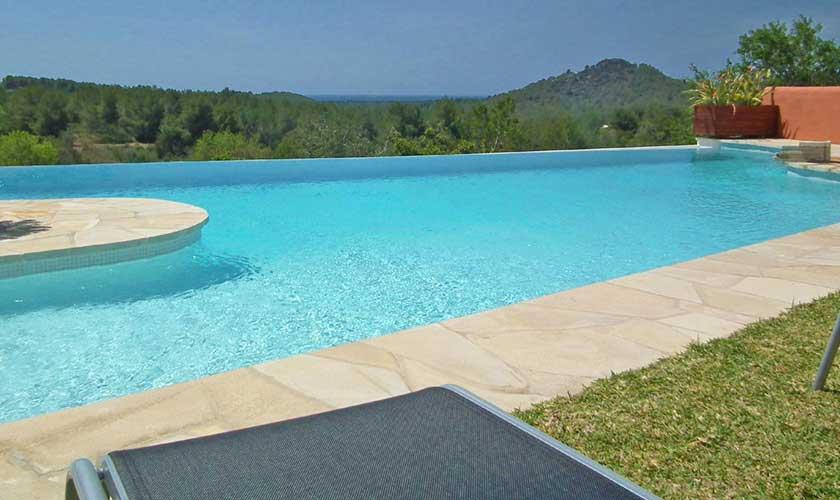 Poolblick Finca Ibiza IBZ 36