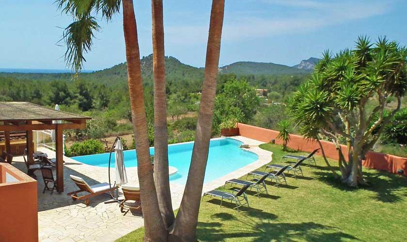 Pool und Garten Finca Ibiza IBZ 36
