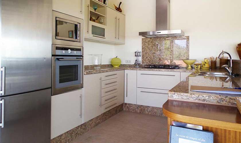 Küche Finca Ibiza IBZ 36