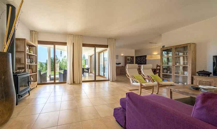 Wohnraum Ferienhaus Ibiza IBZ 37