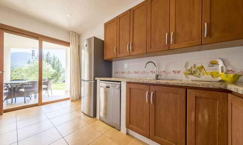 Küche Ferienhaus Ibiza IBZ 37