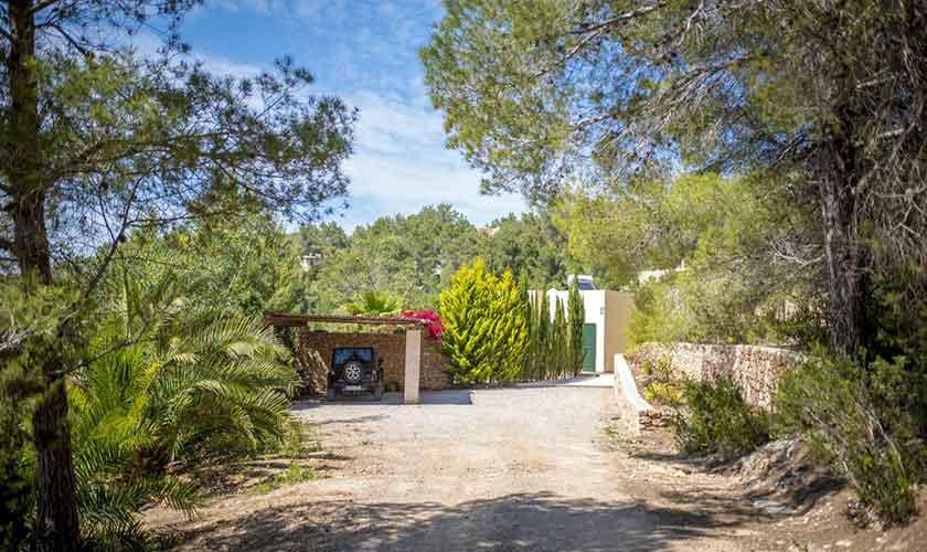 Garten Ferienhaus Ibiza IBZ 37
