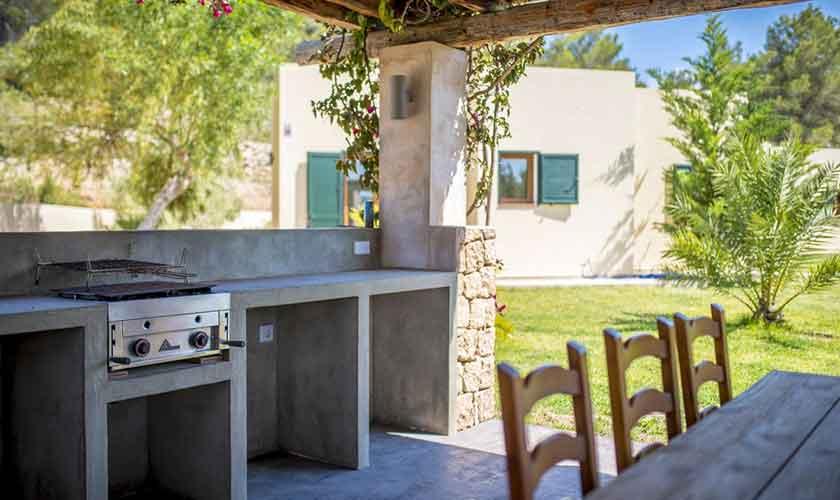 Sommerküche Ferienhaus Ibiza IBZ 37