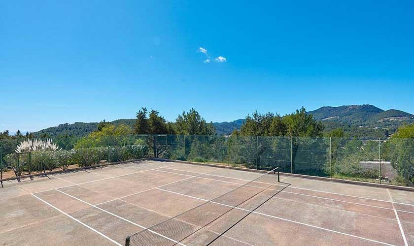 Tennisplatz Finca Ibiza IBZ 38