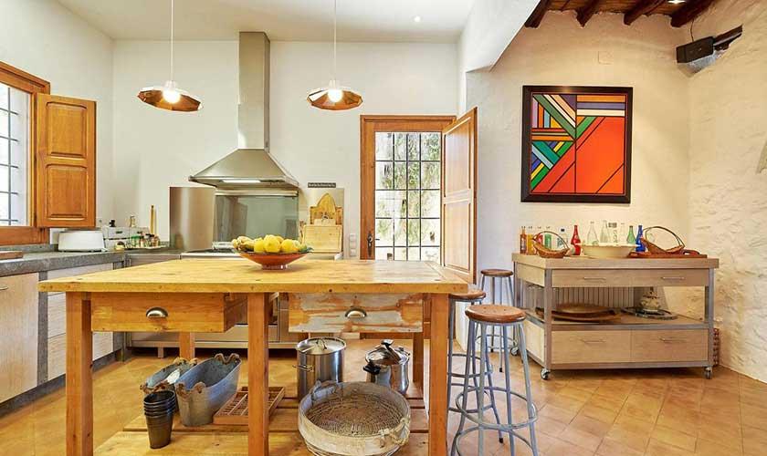 Küche Finca Ibiza IBZ 38