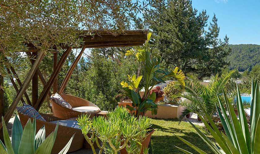 Gartenterrasse Finca Ibiza IBZ 38