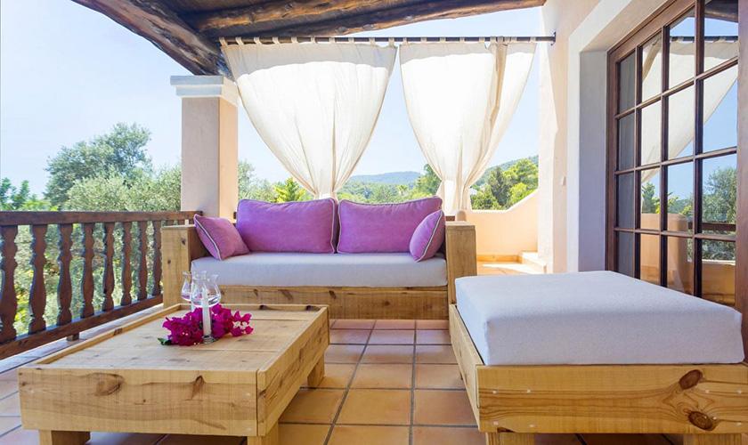 Lounge Terrasse Villa Ibiza IBZ 39