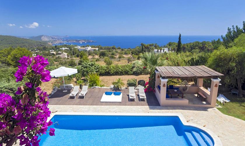 Pool und Meerblick Villa Ibiza IBZ 39