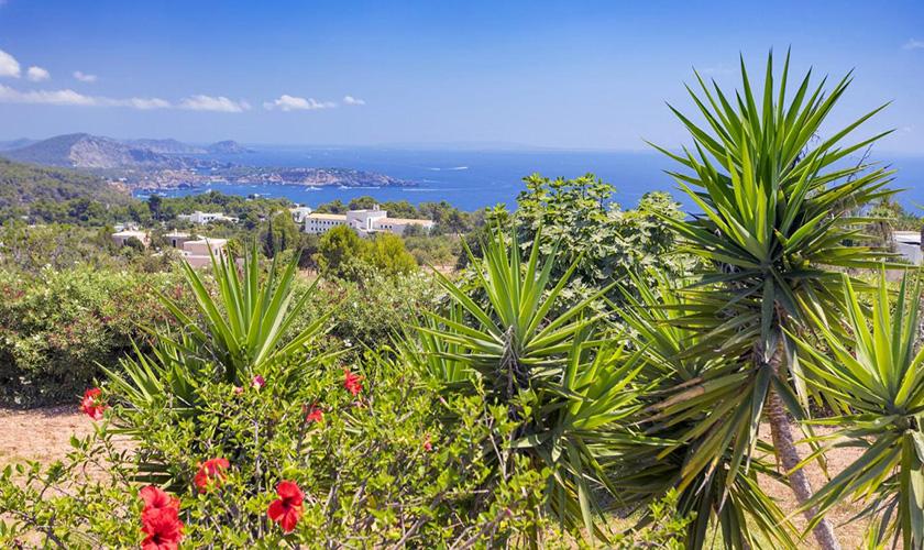 Landschaft und Meerblick Villa Ibiza IBZ 39