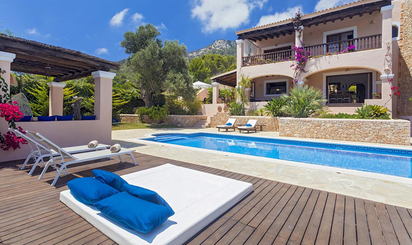 Pool und Terrasse Villa Ibiza IBZ 39