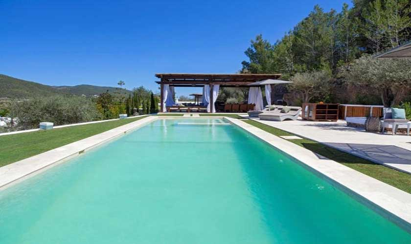 Pool Ferienfinca Ibiza 8 Personen IBZ 40