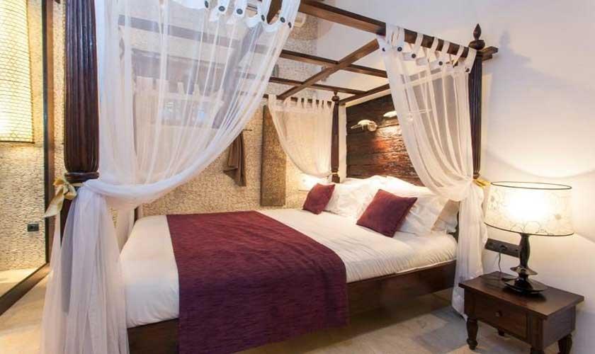 Schlafzimmer Ferienfinca Ibiza 8 Personen IBZ 40