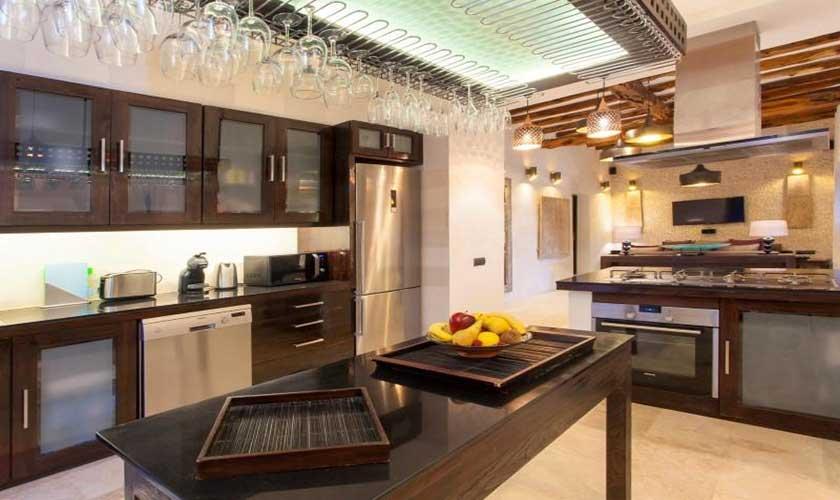 Küche Ferienfinca Ibiza 8 Personen IBZ 40