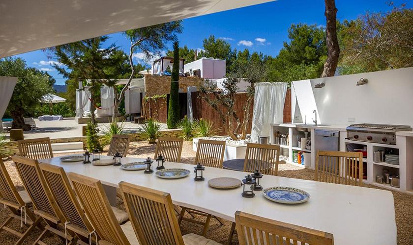 Esstisch Ferienhaus Ibiza IBZ 45