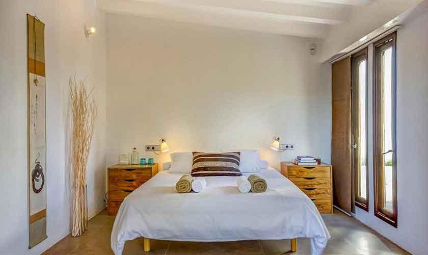 Schlafzimmer Ferienhaus Ibiza IBZ 45