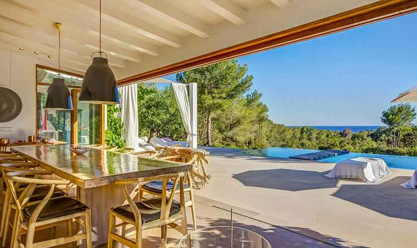 Terrasse Ferienhaus Ibiza IBZ 45