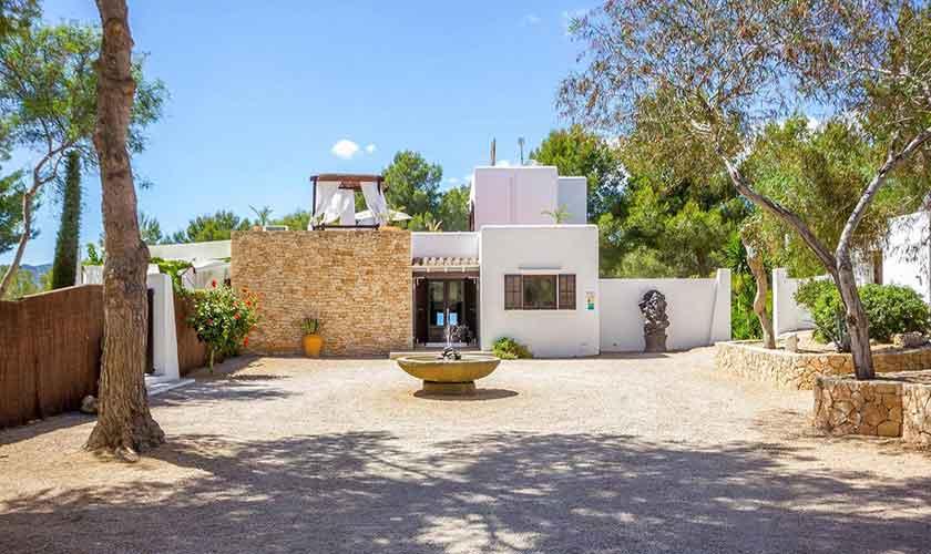 Blick auf das Ferienhaus Ibiza IBZ 45