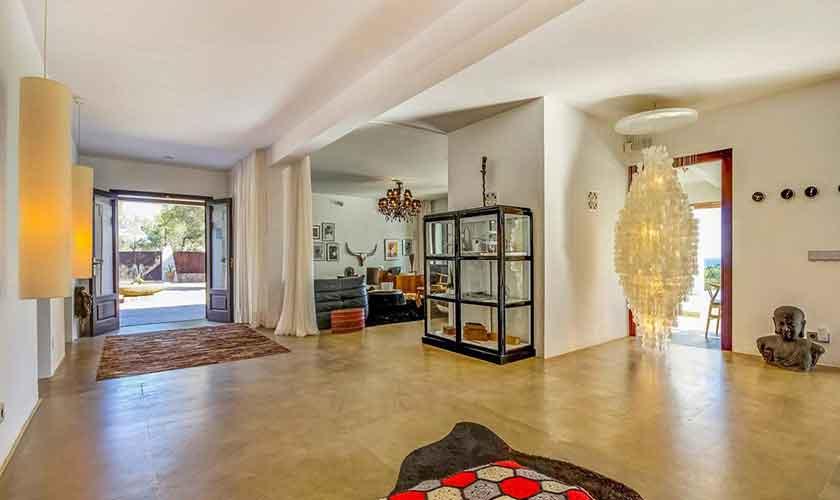Wohnraum Ferienhaus Ibiza IBZ 45