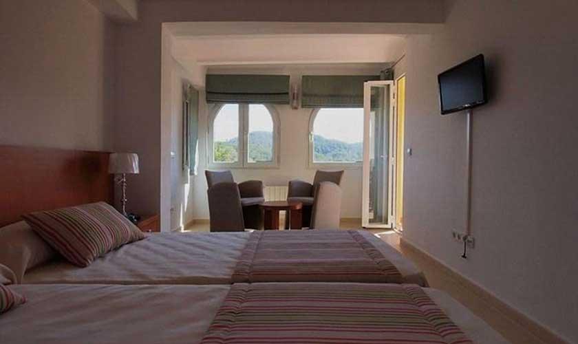 Schlafzimmer Villa Ibiza IBZ 60