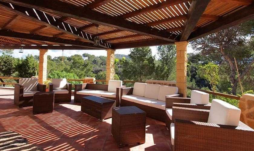 Terrasse Villa Ibiza IBZ 60