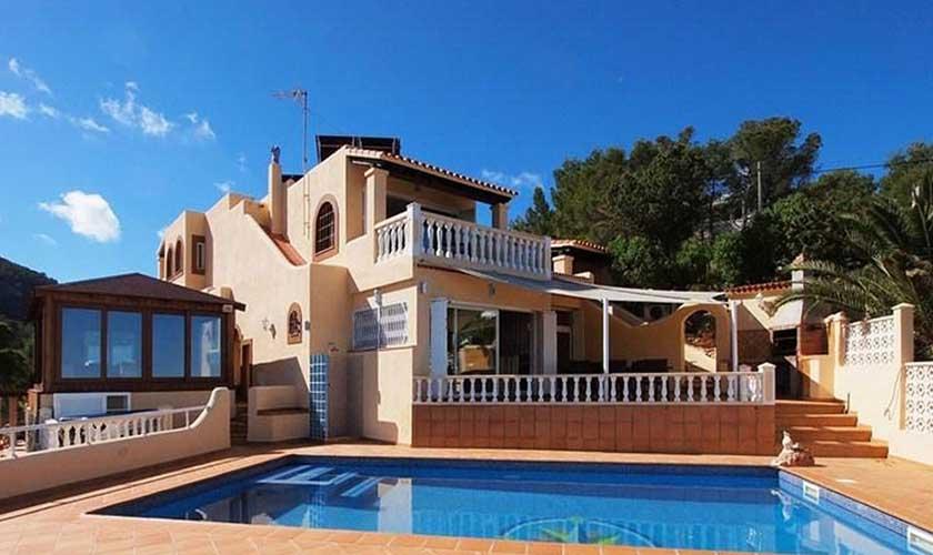 Pool und Villa Ibiza IBZ 60