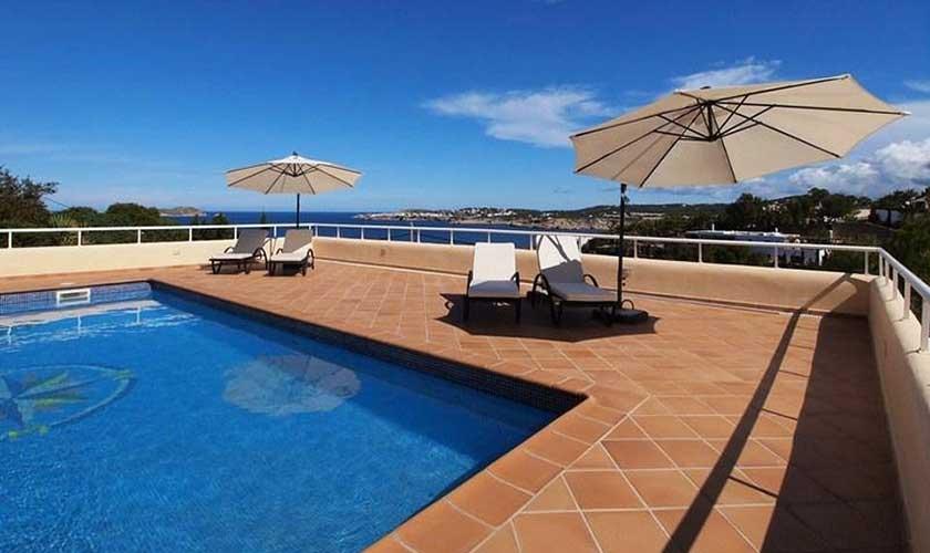 Pool und Meerblick Villa Ibiza IBZ 60