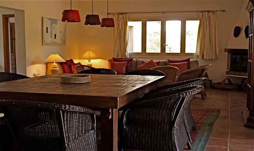 Wohnraum Ferienhaus Ibiza IBZ 62