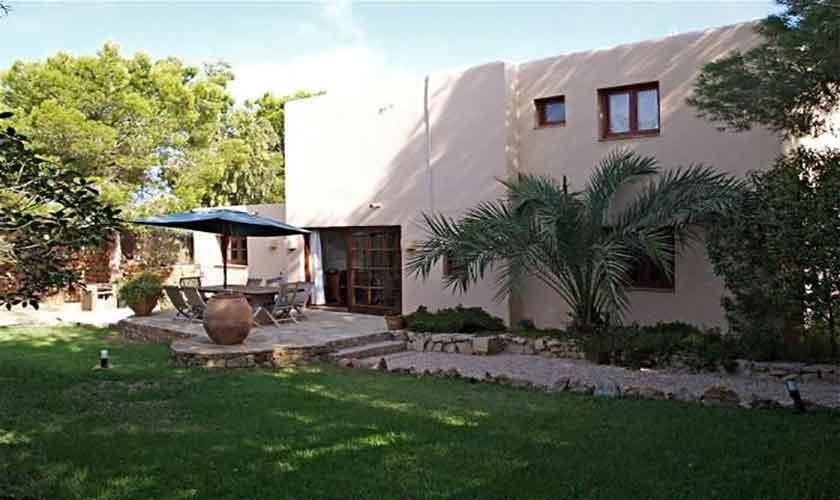 Blick auf das Ferienhaus Ibiza IBZ 62
